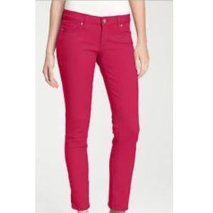 "Paige ""Lip Gloss"" Peg Skinny Jeans Womens"